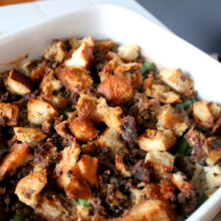 Leftover Turkey & Stuffing Casserole