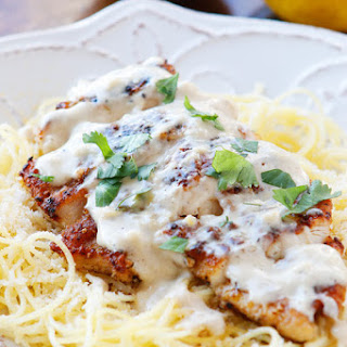 Crispy Lemon Chicken Pasta
