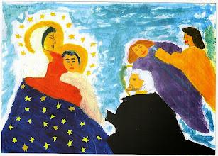 Photo: Praca konkursowa, 2001 r.  Edyta, lat 13.