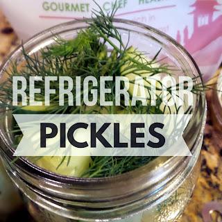 Organic Refrigerator Pickles
