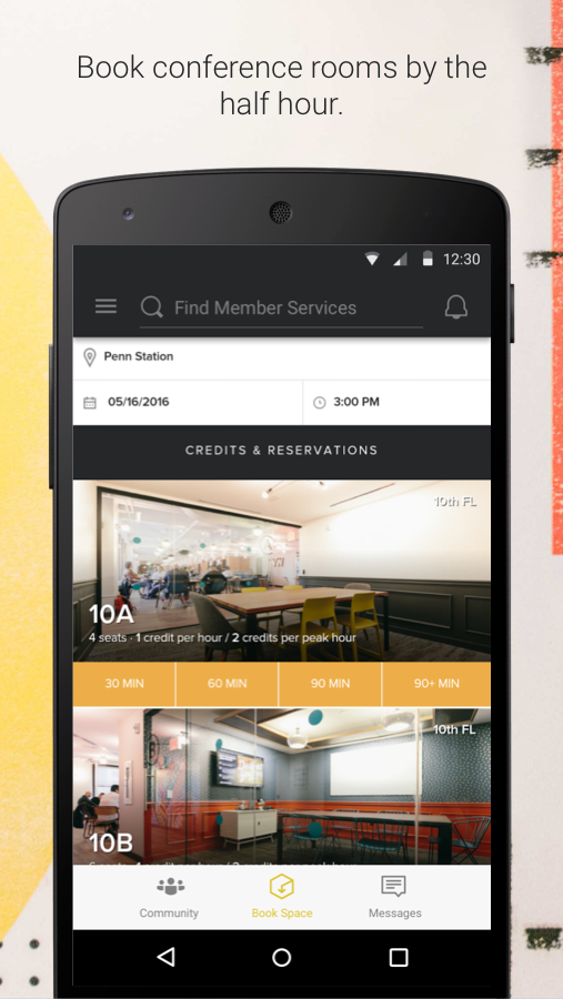 Wework android apps on google play for The house app
