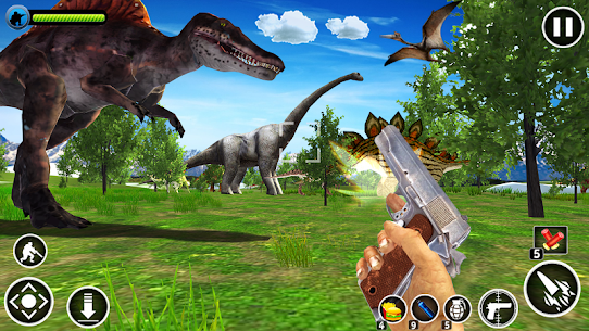 Dinosaur Hunter Free Apk 10