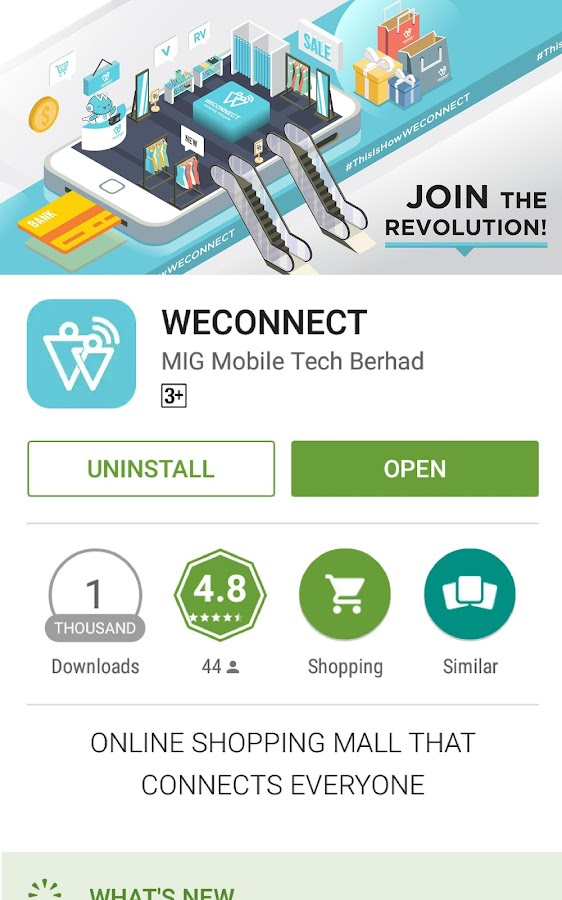 WECONNECT- screenshot