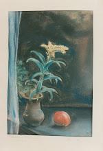 Photo: Stilleben, Pastell 1946