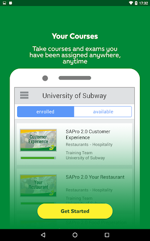 University of SUBWAY® Screenshot