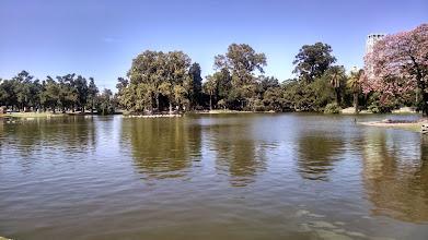Photo: Morning run around the lake in Parque 3 de Febrero