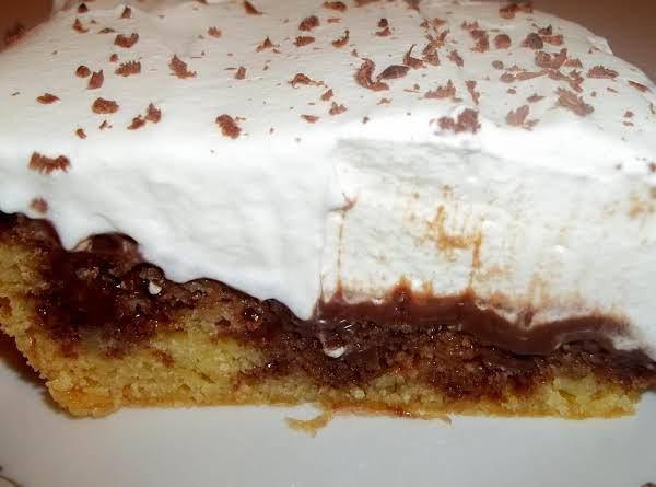 Fudge Poke Cake