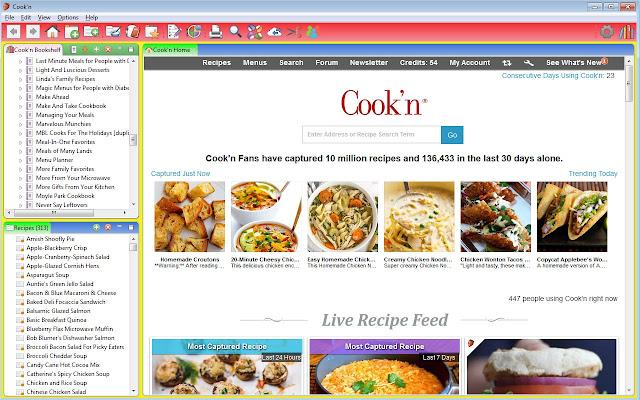 Cook'n Recipe Capture Plugin