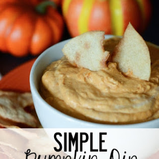 Simple Pumpkin Dip