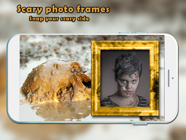 android Scary Photo Frames Screenshot 3