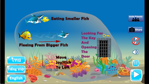 Shark Journey - Feed and Grow Fish Game filehippodl screenshot 5