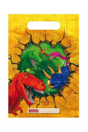 Dinosaurie Kalaspåsar 6 st