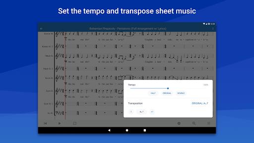 MuseScore: view and play sheet music 2.5.25 screenshots 11