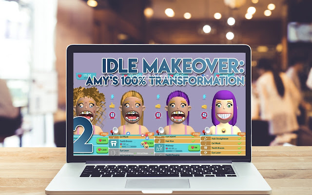 Idle Makeover HD Wallpapers Game Theme