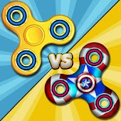 Fidget Spinner vs Super Hero-Epic Battle Simulator