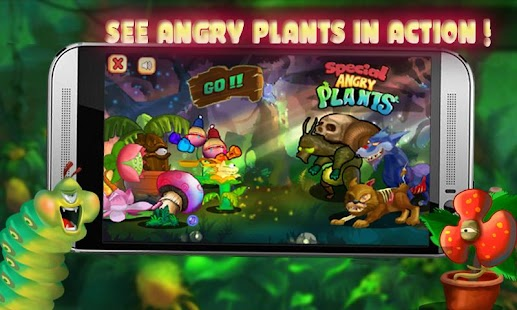 Special Angry Plants - náhled