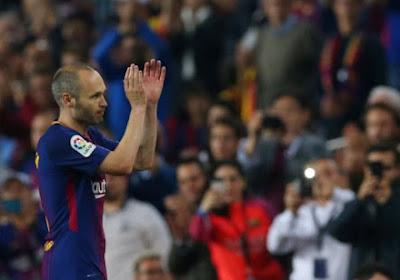 Andrés Iniesta krijgt nu ook een verdiende erkenning van La Liga