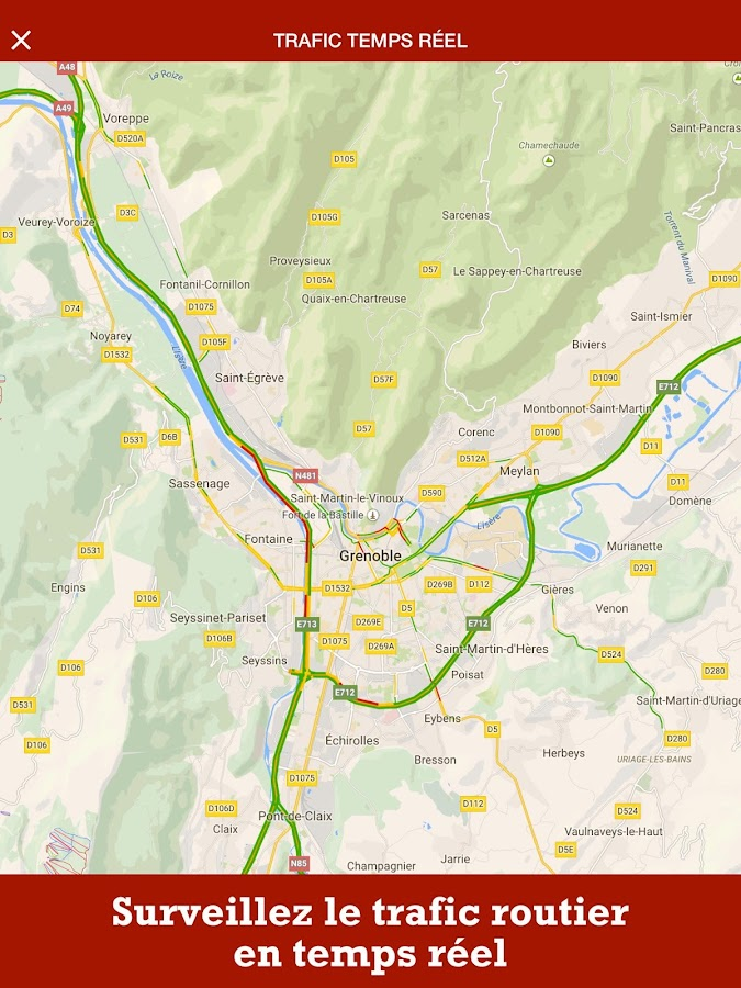 Grenoble Live- screenshot