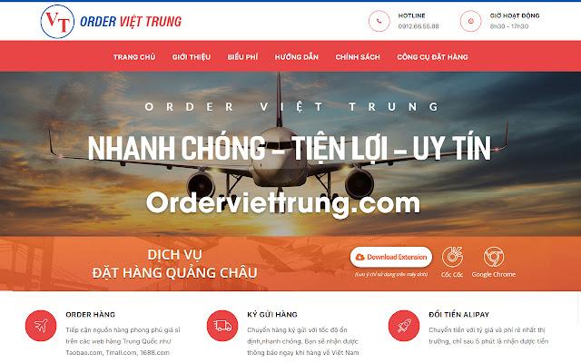 Công cụ đặt hàng - Orderviettrung.com