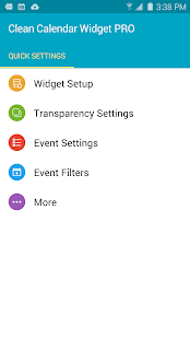 Clean Calendar Widget Pro Screenshot 3