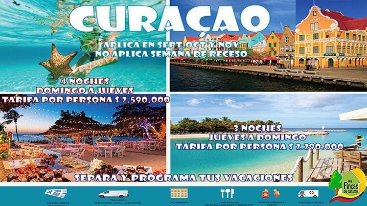 Paquetes Turísticos a Curazao