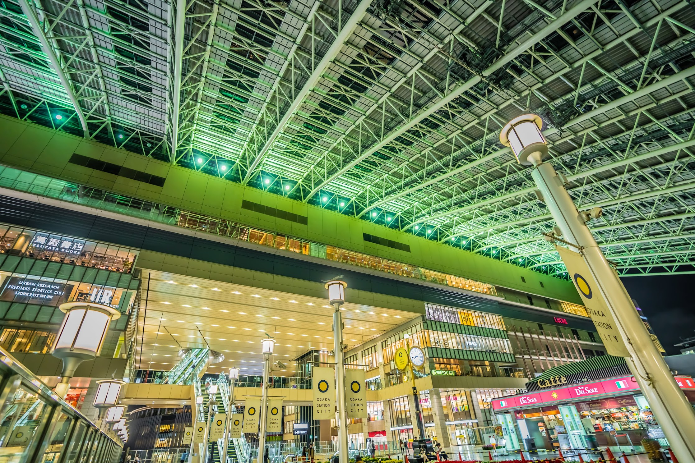 Osaka station Toki-no-hiroba Plaza3