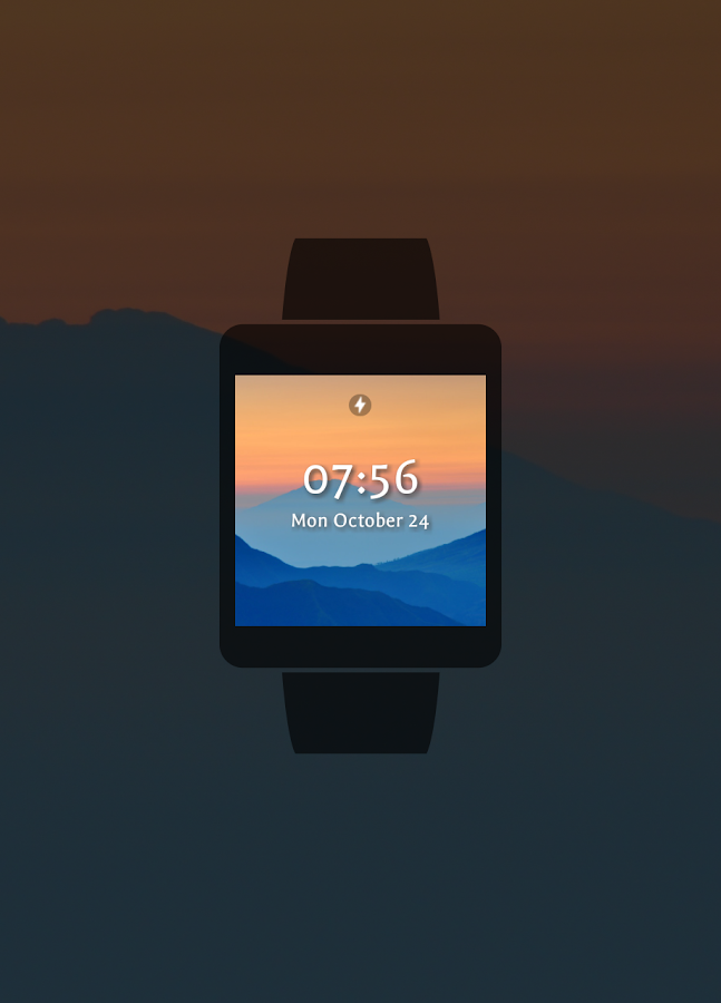 Foto Watch Face- screenshot