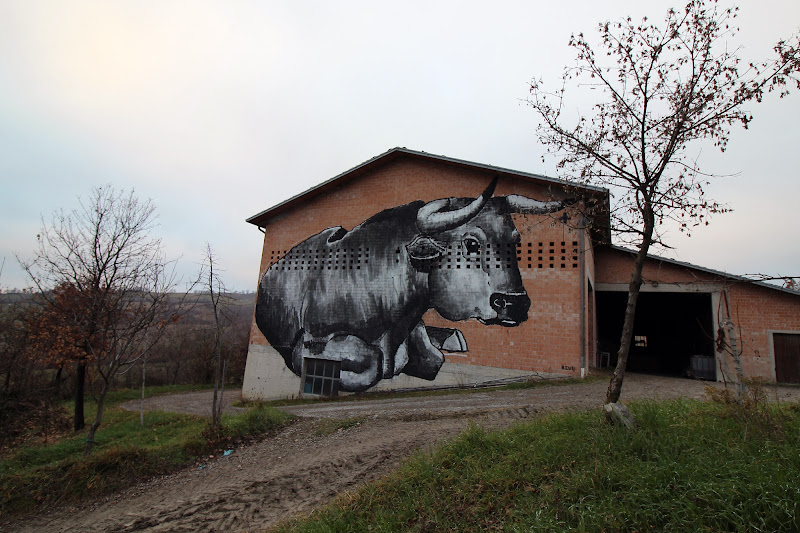 Street art taurus di annalisa._absolute_beginner