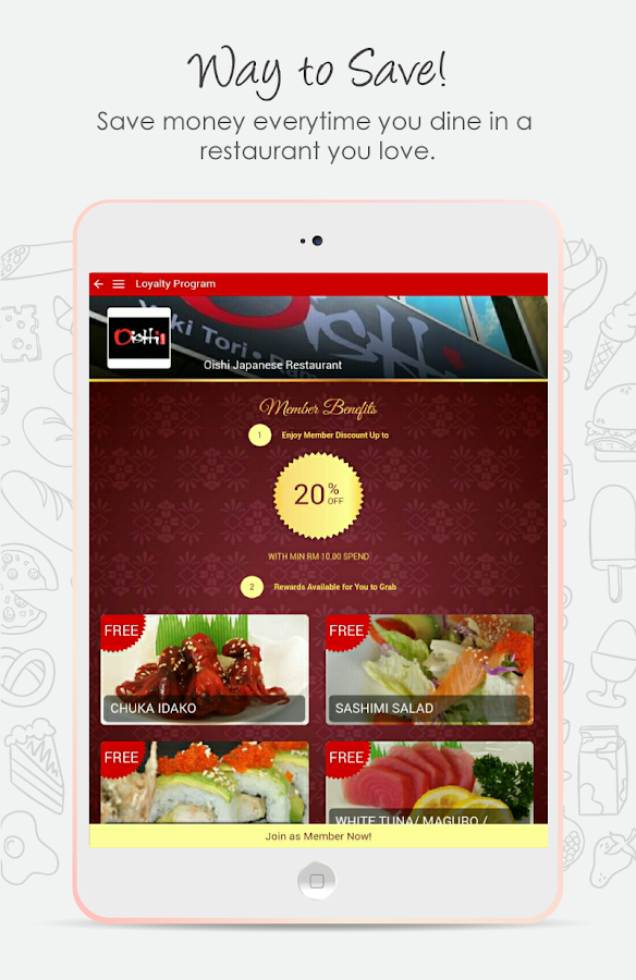 Teaspoon - Food & Rewards- screenshot