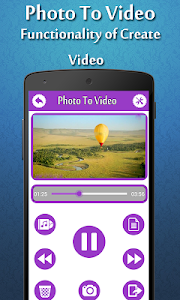 Photo To Video Maker screenshot 3
