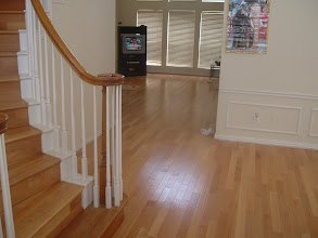 Photo: finished hardwood job W/steps