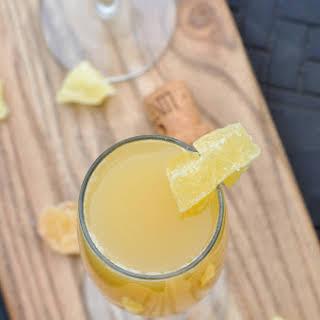 Pineapple Ginger Mimosa.