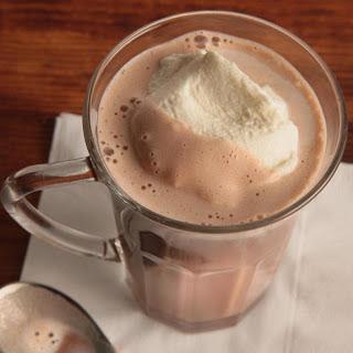Tipsy Hazelnut Hot Chocolate.