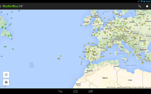 RadarBox24 Free Flight Tracker Screenshot
