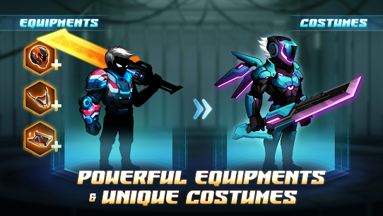 Cyber Fighters: Shadow Legends in Cyberpunk City 5