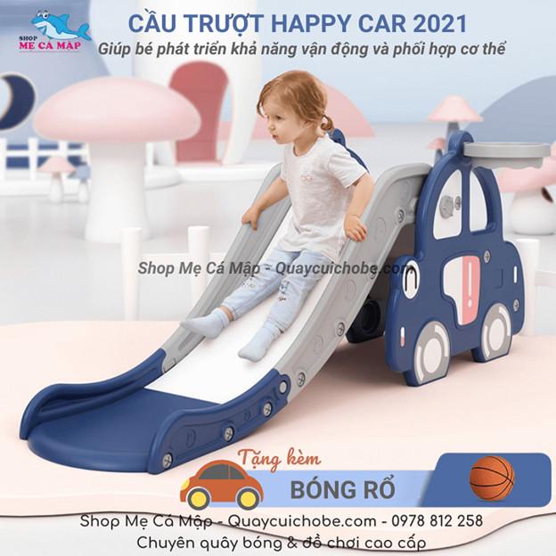 Cầu trượt cho bé hình ô tô bán chạy nhất