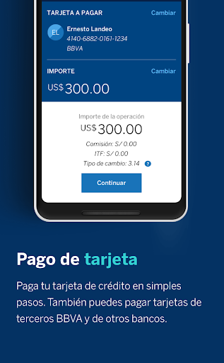 BBVA Peru00fa screenshots 5