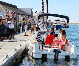 Photo: Les Reines de la Ria vont participer à la Fête de la Mer à bord du SANTIG DU