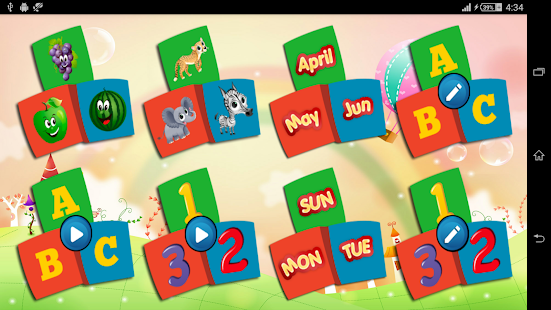Kids Learning, abc, number- screenshot thumbnail