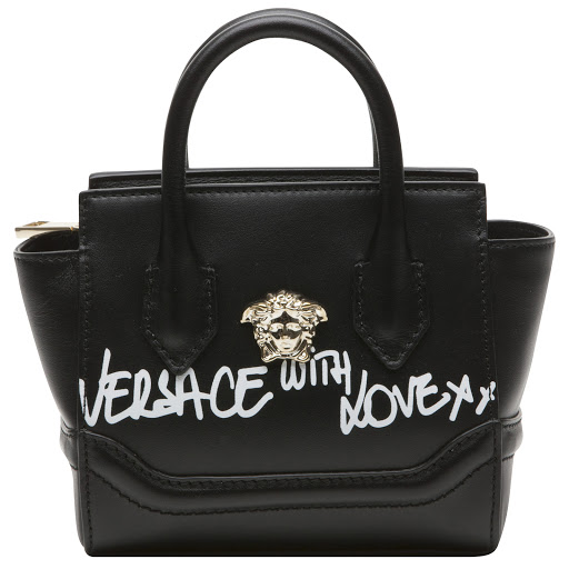 Primary image of Versace Leather Medusa Bag
