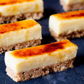 Crème Brulee Bars
