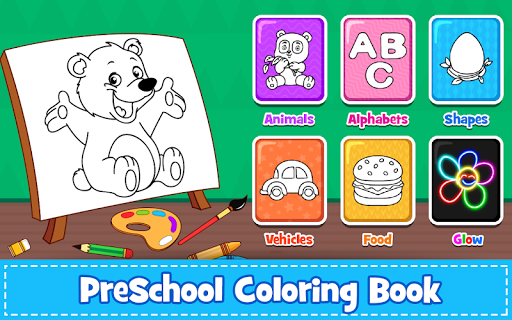 Coloring Games : PreSchool Coloring Book for kids 1.1 screenshots 9