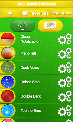 SMS Sounds Ringtones - screenshot