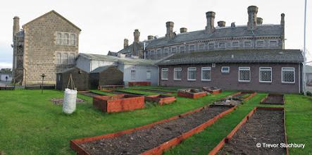 Photo: Garden, HMP Aberdeen (Craiginches)
