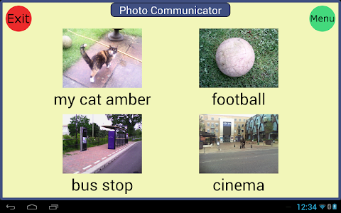 Photo Communicator AAC Lite screenshot 0