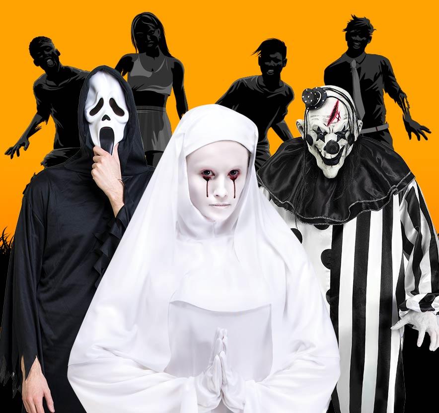 Halloweendräkter - Vuxendräkter - Maskerad  070637de37ce6