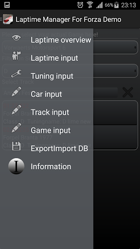 Laptime Manager For Forza Demo
