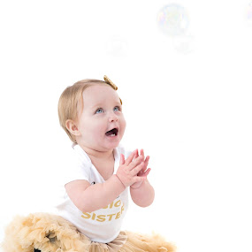 bubbles by Alan Payne - Babies & Children Child Portraits ( laughing, bubbles playing, fun, laughong, baby )