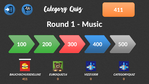 Category Quiz (Trivia) Screenshot