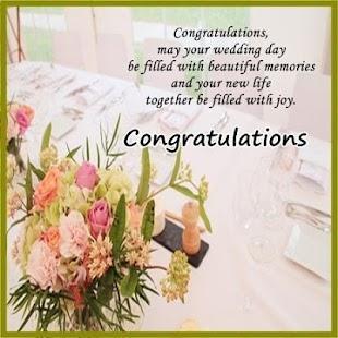 Wedding Greetings Screenshot Thumbnail